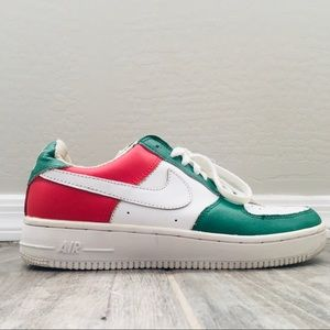 Nike Air Force 1 Italy colors 🇮🇹